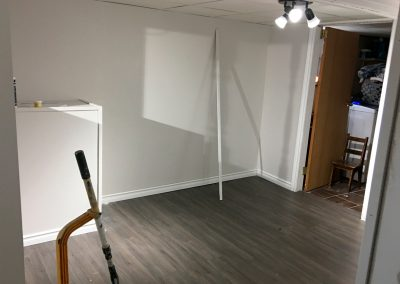 painting-preparation-basement-wall-and-trim