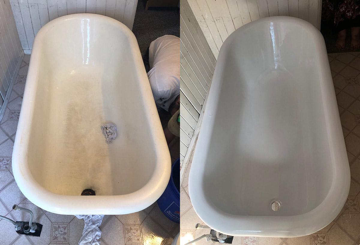 Bath Tub Painting Restoration