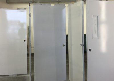 Sandblasted Door